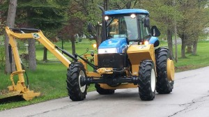 ROAD DEPARTMENT - NEW TRACTOR/MOWER